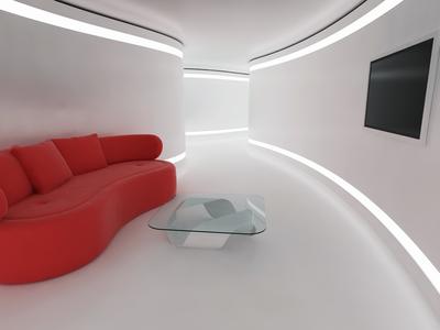 Futuristisches Zimmer