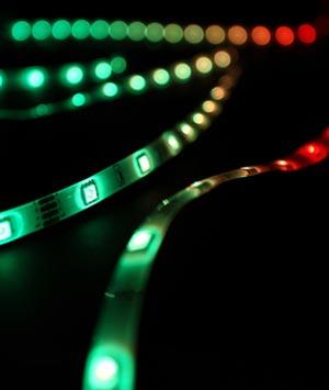 LED-Streifen zur Akzentuierung